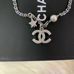 CHANEL Jewelry - Chanel pearl and silver bracelet